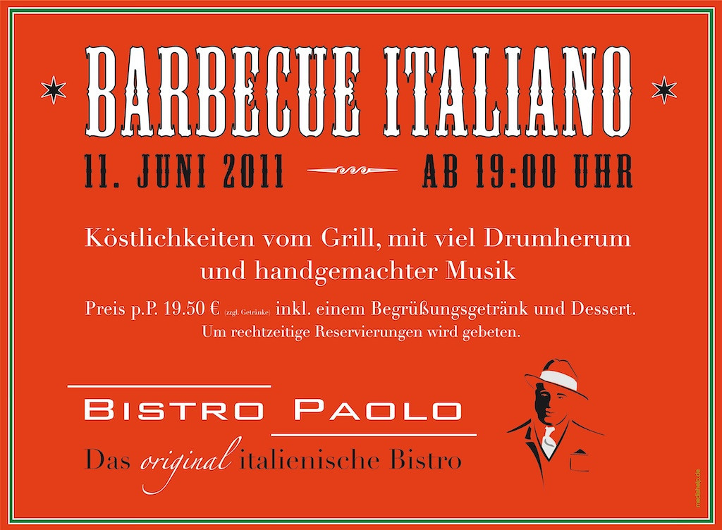 Poster Gastronomie