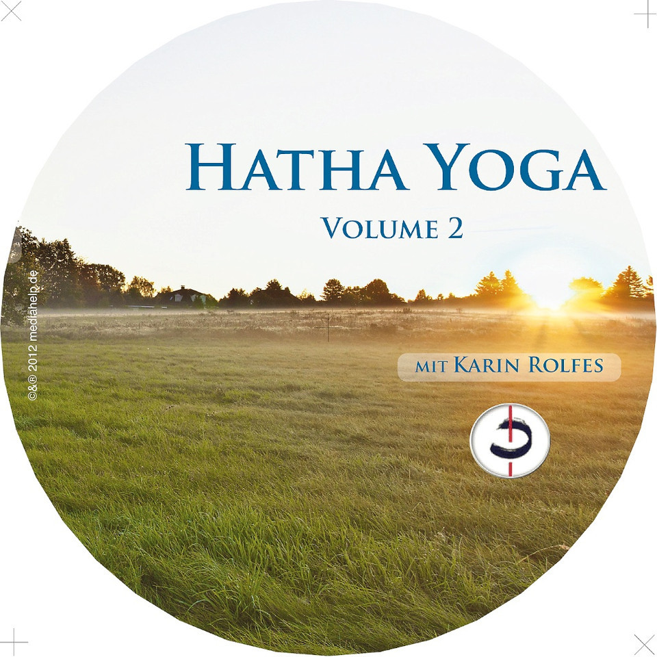 Yoga CD - Studioproduktion, Labeldruck-Design