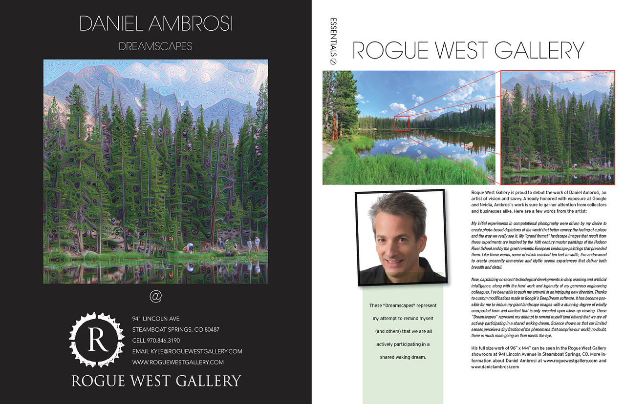 Dreamscapes at Rogue West Gallery, Steamboat Springs, CO