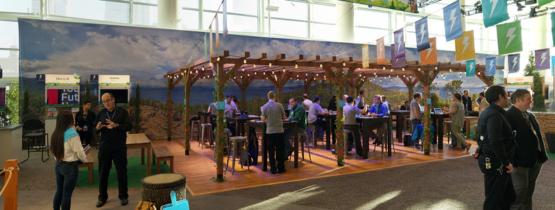 Scenic Backdrops at Dreamforce '16
