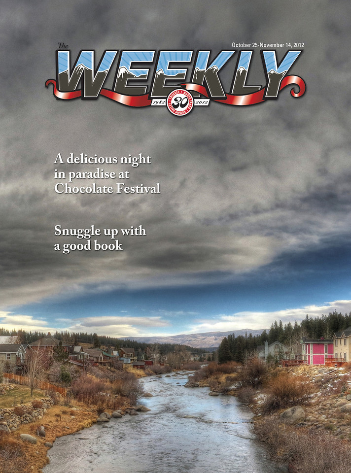 Another magazine cover: The Tahoe Weekly (Issue: October 25 - November 14, 2012)
