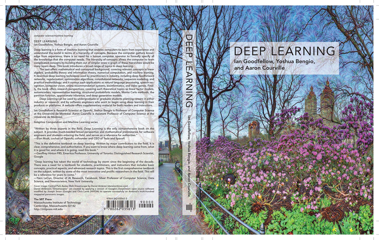 DEEP LEARNING Book Cover Illustration