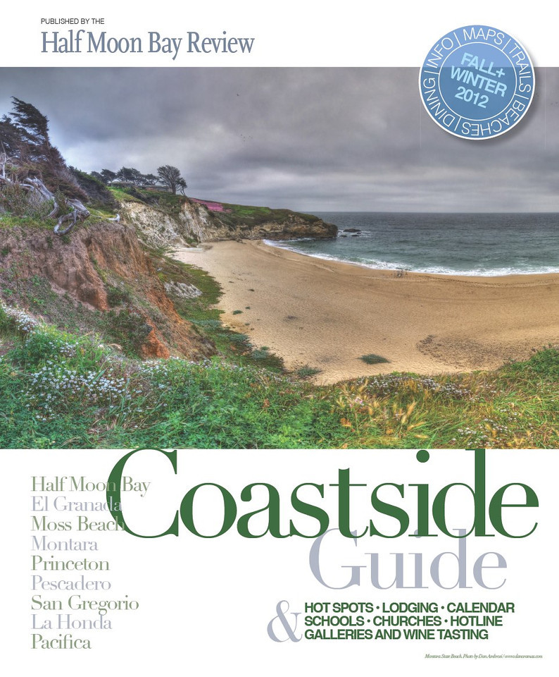"My first magazine cover: The Coastside Guide published twice-yearly by the Half Moon Bay Review<br /> See: <a href=""http://issuu.com/WickCommunications/docs/coastside_guide_fa2012_web/1"">http://issuu.com/WickCommunications/docs/coastside_guide_fa2012_web/1</a>"