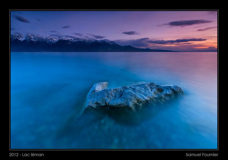 Lac Léman - Vaud - Avril 2012