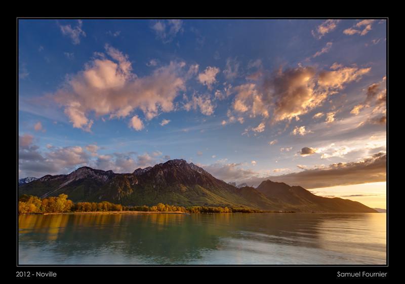 Lac Léman - Vaud - Mai 2012