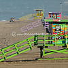 Painted Life Guard Stands in Manhattan Beach