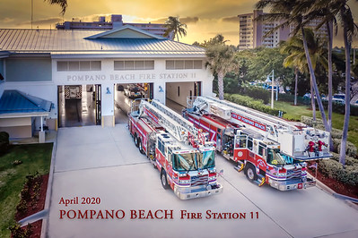 Pompano Beach fire station 11