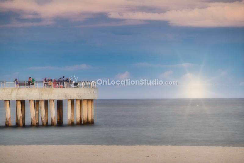 peaceful pier
