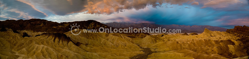 Inspiration <br /> Zabriskie Point, Death Valley National Park, California