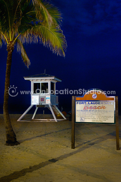 Fort Lauderdale Beach by Night