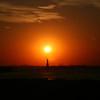Statue of Liberty Sunset.