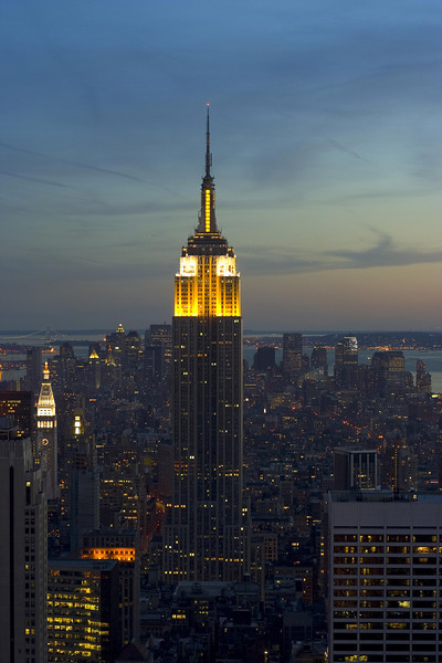 <CENTER>Empire State Building</CENTER>