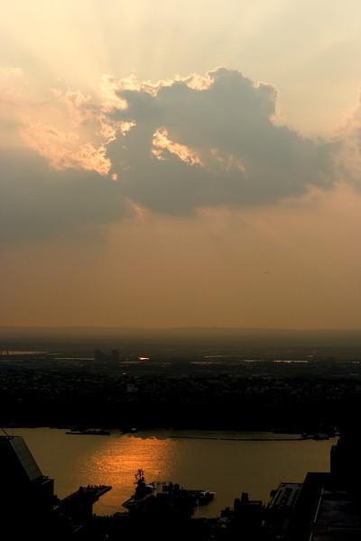 <CENTER>Sunset over New Jersey</CENTER>