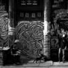 Candid Graffiti NYC shot