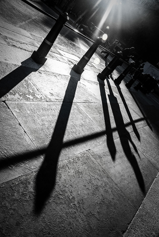 Bollard Shadows