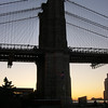 <CENTER>Brooklyn Bridge at Sunset</CENTER>
