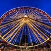 Navy Pier's famous Ferris Wheel.