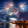 A usual Chicago Summer Sight - The Wednesday and Saturday! Night Fireworks at Navy Pier