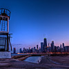 Chicago's skyline taken from the North Avenue Pier.
