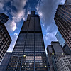 The Willis (Sears) Tower standing among it's peers.