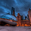 The Bean at blue hour!