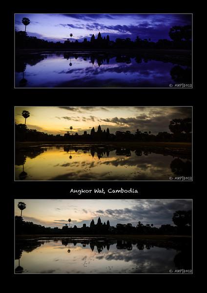 Pre-dawn @ Angkor Wat