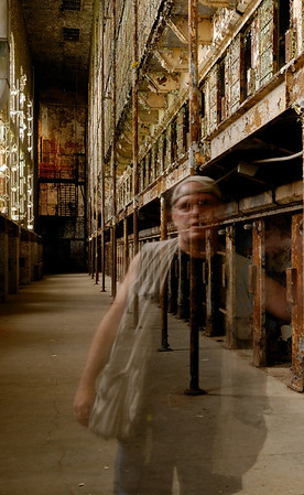 Ghost Haunting the Cell Blocks at the Mansfield Reformatory