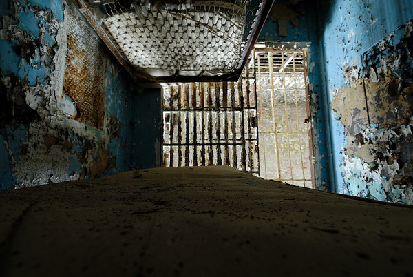 View from the bottom bunk - Mansfield Reformatory