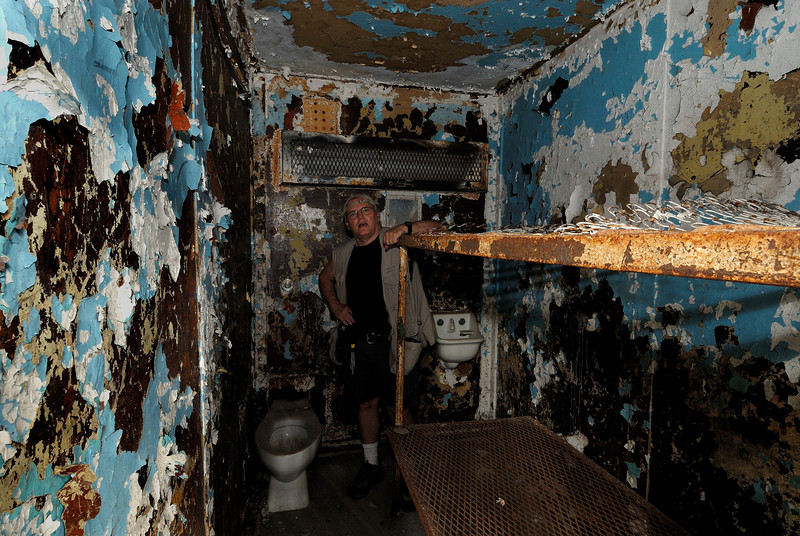 Cell at the Mansfield Reformatory