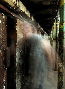 Ghost entering a Cell - Mansfield Reformatory