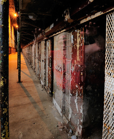Ghost in the East Cell Block - Mansfield Reformatory 2008