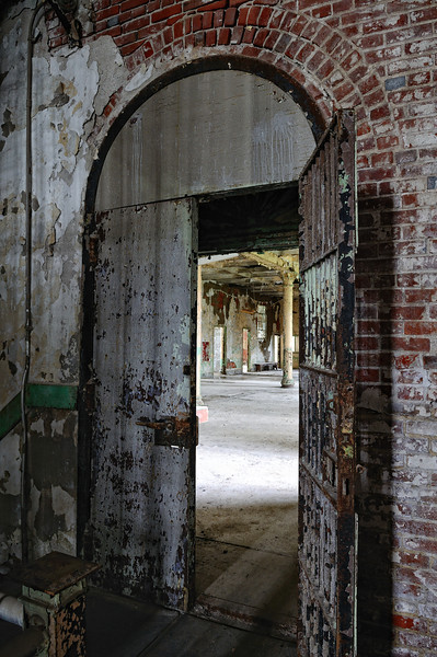 Entrance to the Hospital - Mansfield Reformatory 2011