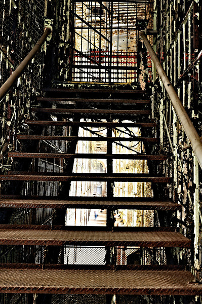 West Cell Block Stairs - Mansfield Reformatory 2011