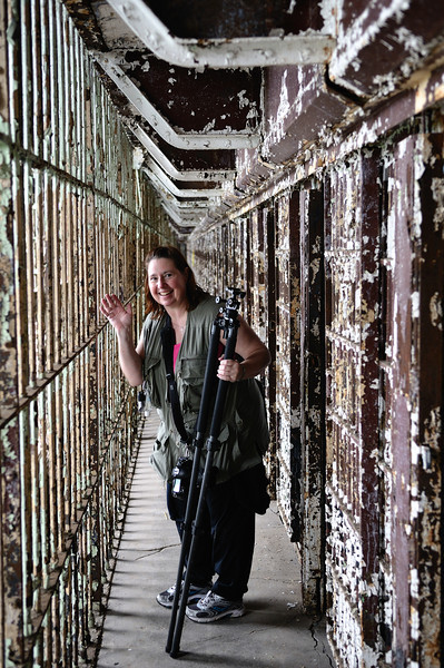 Photographer, East Cell Block - Mansfield Reformatory 2011