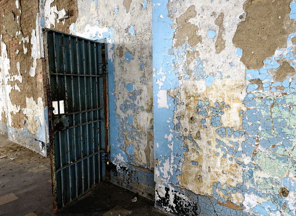 Chapel Door leading to West Cell Block - Mansfield Reformatory 2011