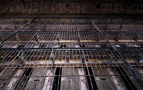 World's Largest Free Standing Cell Block (6 tiers) - Mansfield Reformatory