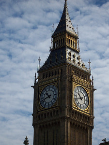 A photograph Kate took of Big Ben while in England as a Student Ambassador with the People to People program.