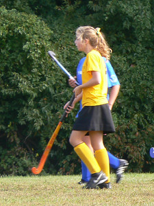 2006, Kate's first season playing field hockey.