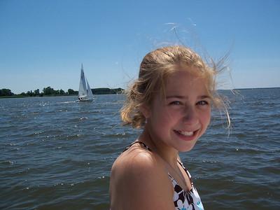 Kate, 2006 at Ship Point.