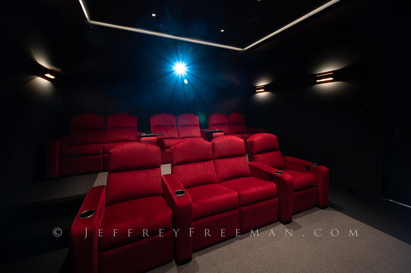 Martis Camp private home theater