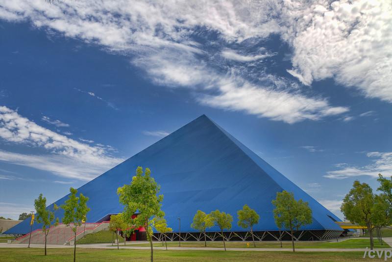 The Walker Pyramid, California State University, Long Beach