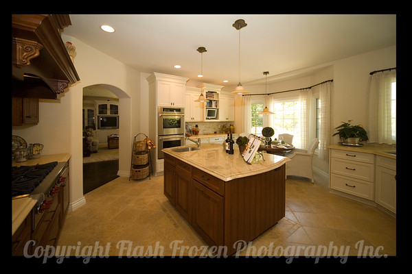 Interior designer's portfolio after kitchen remodel