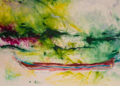 "Susan McDormand ""Lifeboat"" - Detail"