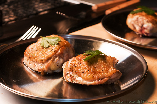 Pan seared chicken  - Overland Gourmet shoot