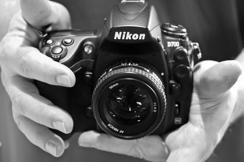 Nikon D700 hands-on at Ace Photo in Ashburn, VA