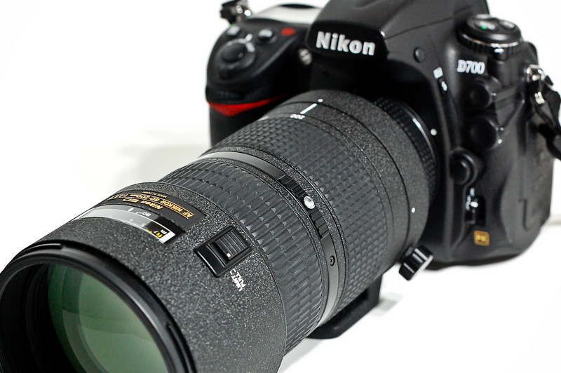 Nikon D700 with 80-200mm f-2.8 AF-D