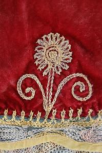Ethiopian Saddle Blanket c1960 Detail 2