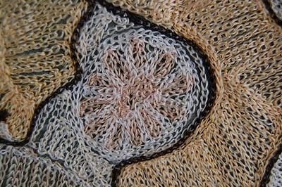 Ethiopian Saddle Blanket c1960 Detail 1