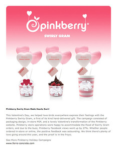 pinkberry from ferro concrete