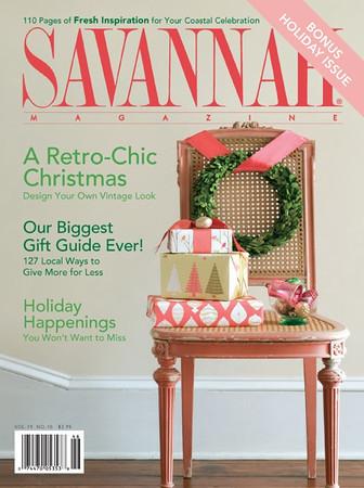 Savannah Magazine Cover